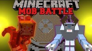 getlinkyoutube.com-Snow Beast Vs. Kyuubi - Minecraft Mob battles - Arena Battle - Legendary Beasts Ore Spawn Mods