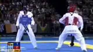 getlinkyoutube.com-Combates De TaeKwonDo