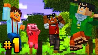 "getlinkyoutube.com-Minecraft Story Mode (Part 1) - Episode 1 ""ORDER OF THE STONE!"