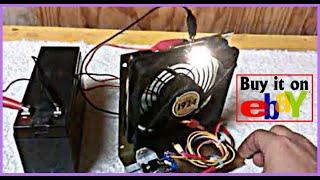 getlinkyoutube.com-Bedini Cooling Fan Motor!