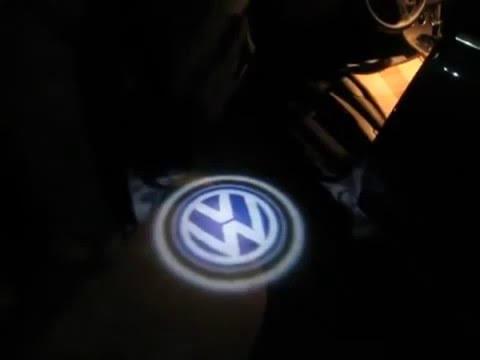 LED Courtesy light - Стильная подсветка дверей c логотипом авто!