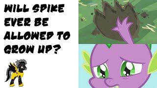 getlinkyoutube.com-MLP Pony Theory - Will Spike Ever Be Allowed To Grow Up?
