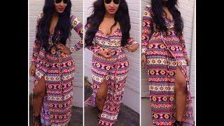 getlinkyoutube.com-DIY: Maxi Wrap Dress