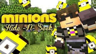 GREATEST JUKE EVER! | Minecraft Mini-Game MINIONS HIDE N SEEK /w Facecam!