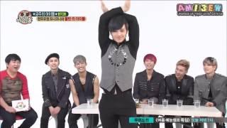 getlinkyoutube.com-[ซับไทย] 130918 Weekly Idol BTOB Girl Group Dance cut