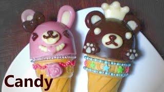 getlinkyoutube.com-glico #1 - Decoration Giant Caplico (chocolate, candy)