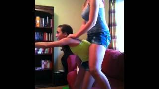 getlinkyoutube.com-Stunts for 2- Strength video mess up :)
