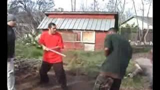 getlinkyoutube.com-Gang fight! Knocked Out!