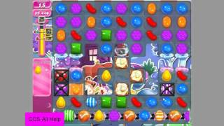 Candy Crush Saga Level 1239 Hard level.