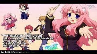 """getlinkyoutube.com-[TYER] English Baka and Test Summon the Beasts OP """"Perfect-area Complete!"""" [feat. Dria-dono]"""