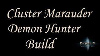 getlinkyoutube.com-[2.4.2] Diablo 3 - GR75-85+ Cluster Arrow Marauder Build - Demon Hunter Guide