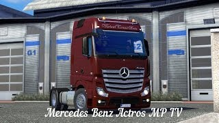 getlinkyoutube.com-[ETS2 v1.8.2.5s] [MOD] Mercedes Benz Actros MP IV