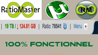 getlinkyoutube.com-Avoir un ratio illimité sur T411 avec RatioMaster 2016