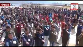 इंडो नेपाल बॉर्डर पर ,पुलिस ,खूफिया विभाग व  एसएसबी अलर्ट पर