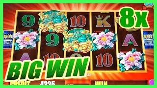 getlinkyoutube.com-5 FROGS SLOT MACHINE SUPER FEATURE BIG WIN BONUS w/ MULTIPLIERS Aristocrat Slots