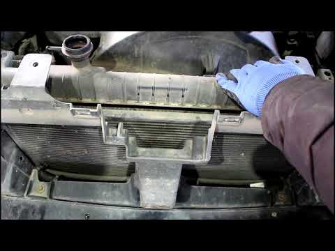 Замена радиатора и термостата  1часть  Chevrolet TrailBlazer Шевроле Трейлблейзер 4,2