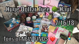 Huge Dollar Tree Haul 7/16/18*NEW ITEMS, Stationery, Candles, New Decor, Adult Coloring Books & More