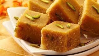 getlinkyoutube.com-Chana Dal Burfi   Easy 3 step recipe