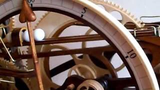 getlinkyoutube.com-Steampunk wooden clock.