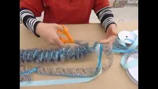 getlinkyoutube.com-Crankin' Out Crafts -ep232 Wild Sheer Ribbon Lei