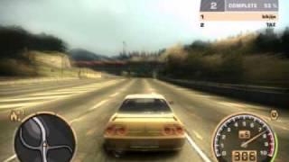 getlinkyoutube.com-blacklist 14 Need for speed Most Wanted R32 Skyline