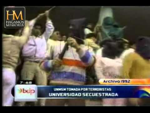 TERRORISMO en la Universidad San Marcos - Perú 1992