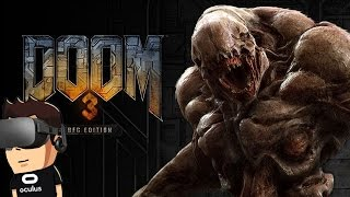 Doom 3 BFG VR (WITH Touch & Speech!) | Oculus Rift | GeForce GTX 1060 (With Commentary)