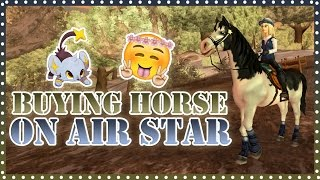 getlinkyoutube.com-Buying my first horse on Air Star | Star Stable