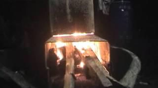 火箭爐 Rocket stove二次進氣