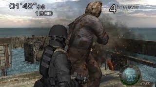 getlinkyoutube.com-Resident Evil 4 PC Mod - Melee Anytime