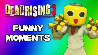 getlinkyoutube.com-Dead Rising 3 Funny Moments Gameplay 3 - Invisible Zombie Glitch, Duck Gloves, Party Slapper Fun