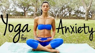 getlinkyoutube.com-20 Minute Relaxing Yoga for Happiness | Melt Away Anxiety & Stress, Beginners at Home Yoga Flow