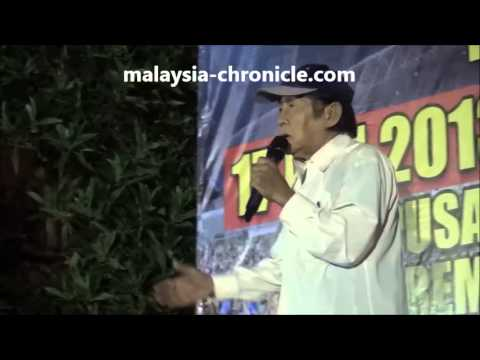 Najib is shaking, he's very scared - Chen Man Hin at Seremban Blackout 505