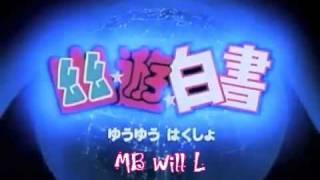 getlinkyoutube.com-Yu Yu Hakusho Opening Full - Smile Bomb