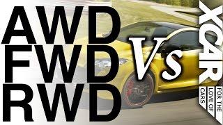 getlinkyoutube.com-AWD vs FWD vs RWD: Who Wins? - XCAR