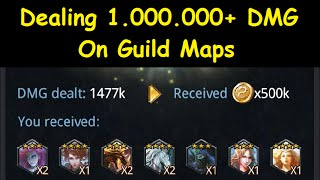Deck Heroes: Dealing 1.000.000+ DMG on Guild Maps
