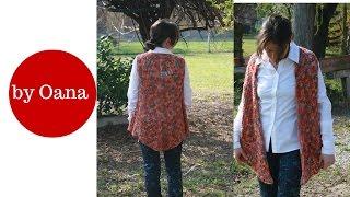 Crochet gilet for women by Oana