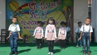 getlinkyoutube.com-Anak play group TK nuris jember goyang pinguin