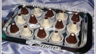 getlinkyoutube.com-شهيوات ريحانة كمال حلوى بريستيج بالشوكولا ، اللوز و الكرميل