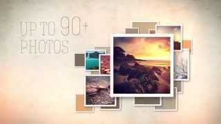 getlinkyoutube.com-SLIDESHOW VIDEO DISPLAY - AE Template With Retro Styled Photo Frames