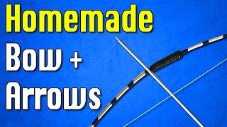 getlinkyoutube.com-How to Make a Bow and Arrow at Home   Easy Bow Tutorial