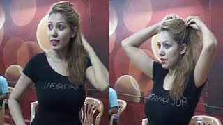 getlinkyoutube.com-Munmun Dutta's (Babita) unseen dance rehearsal video - LEAKED VIDEO.