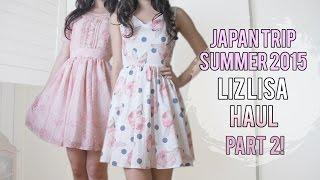 getlinkyoutube.com-Japan trip Summer 2015 Liz Lisa Haul - Part 2 [Emiiichan]