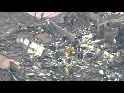 Oklahoma Tornado Video - Rescuers Hunt for Students in Destroyed School