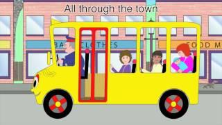 getlinkyoutube.com-Nursery Rhymes - The Wheels on the Bus (all through the town version)