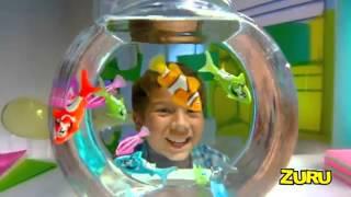 getlinkyoutube.com-ROBO FISH Интерактивные игрушки рыбы