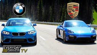 getlinkyoutube.com-BMW M2 vs Cayman GTS   Dream Dilemma - Everyday Driver