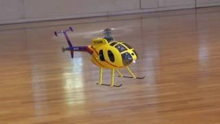 getlinkyoutube.com-Trex250 Rumpf MD500E robbe Modell-Hubschrauber