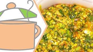 getlinkyoutube.com-Nigerian Okra Soup | All Nigerian Recipes