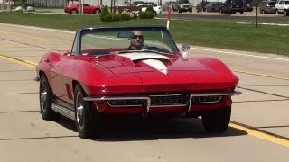 getlinkyoutube.com-Test Driving 1967 Corvette 427 Big-Block 3x2 Carbs 435 Horsepower